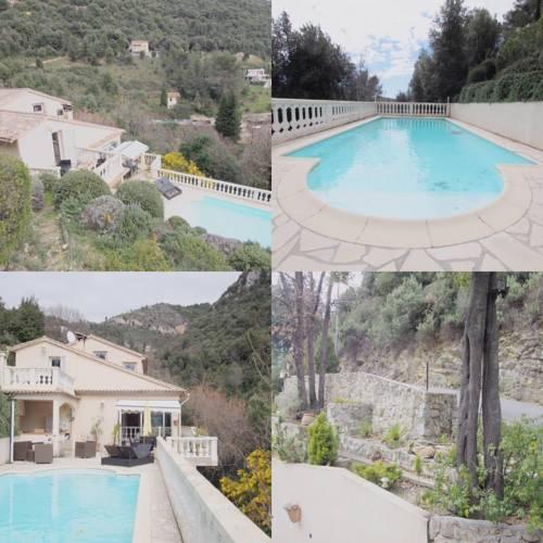 Maison a st Martin de Peille : Guest accommodation near Peillon