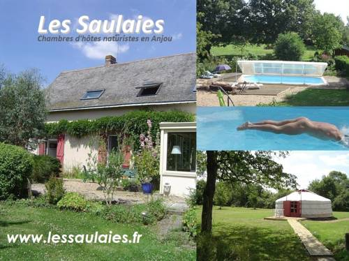 Chambres d'Hôtes Naturistes Les Saulaies : Bed and Breakfast near Angrie