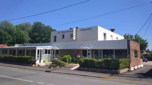 Le Nouveau Monde : Hotel near Bruyères-le-Châtel