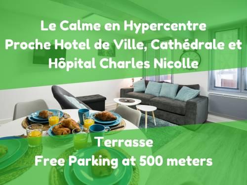 Le Cottage de l'Hotel de Ville : Apartment near Darnétal