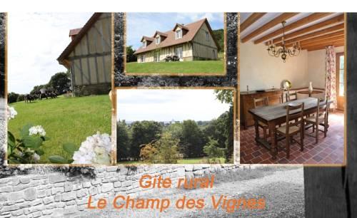 Le Champ des Vignes : Guest accommodation near Avranches