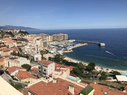 Duplex villa sur toit vue Monaco : Apartment near Cap-d'Ail