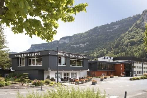 Hôtel-Restaurant de l'Embarcadère : Hotel near Oyonnax