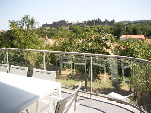 Les Balcons de la Cité - Le Saint Nazaire : Apartment near Carcassonne