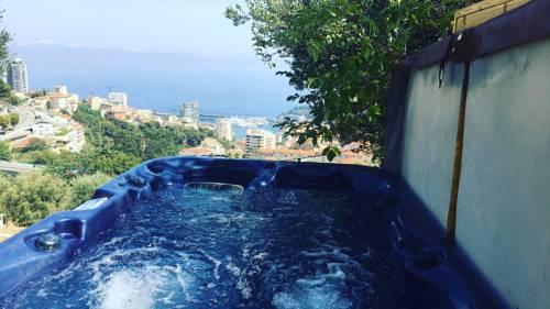 Le petit jardin exotique : Guest accommodation near La Turbie