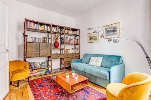 Family apartment La Villette sleeps 7 : Apartment near Pantin