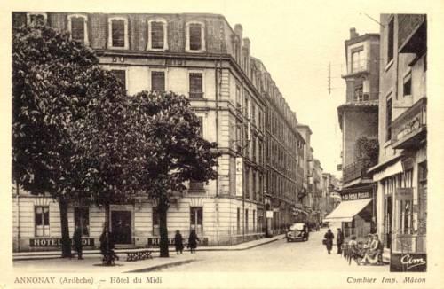 Hôtel du Midi : Hotel near Roiffieux