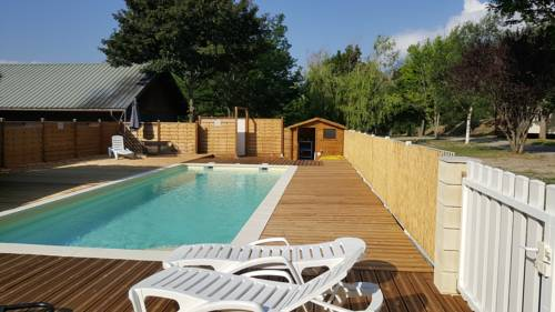 Camping New Rabioux : Guest accommodation near Châteauroux-les-Alpes
