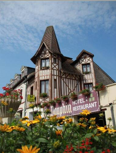 Hôtel le Dauphin : Hotel near Almenêches