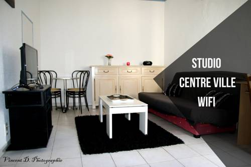 Studio Au Coeur D'Aubenas : Apartment near Saint-Privat