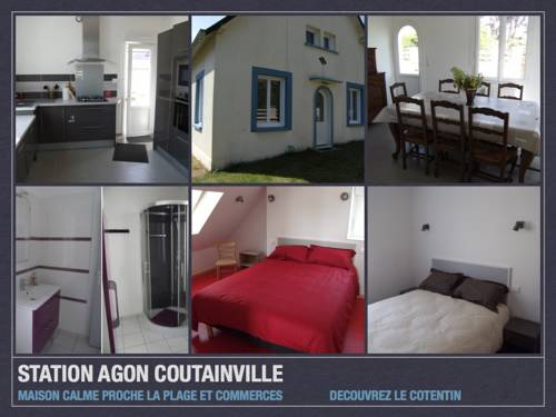 conciergerie-gussy : Guest accommodation near Agon-Coutainville