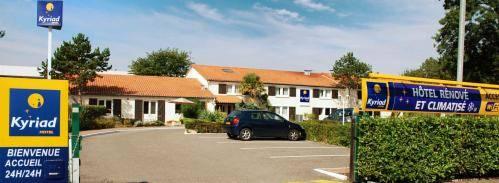 Kyriad Bordeaux Lormont : Hotel near Cenon