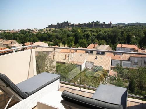 Les Balcons de la Cité - Les Suites du Saint Nazaire : Apartment near Carcassonne