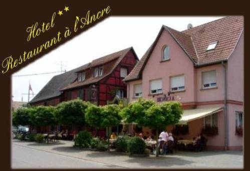 Hôtel A l'Ancre : Hotel near Crœttwiller