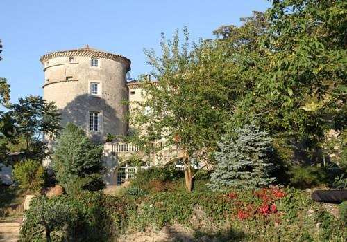 Chateau de Mauras : Bed and Breakfast near Saint-Martin-sur-Lavezon