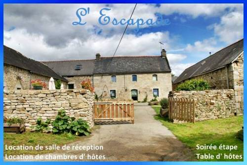 L'Escapade : Bed and Breakfast near Briec