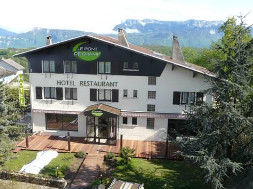 Logis Le Pont de Champ : Hotel near Apprieu