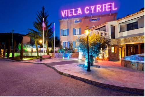 Villa Cyriel : Hotel near Châteauneuf-Villevieille