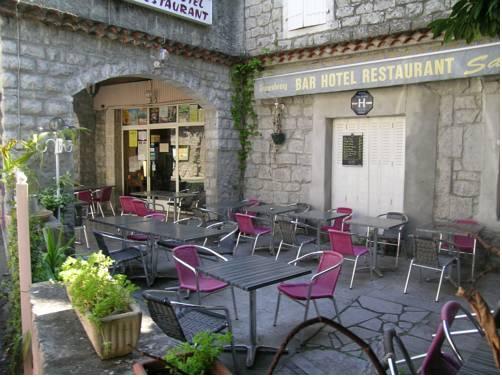 Auberge Sapede : Hotel near Balazuc