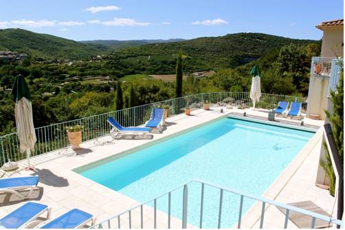 Bastide Saint-Thomé : Bed and Breakfast near Alba-la-Romaine