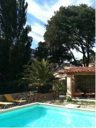 La Recreation : Guest accommodation near Saint-Montan