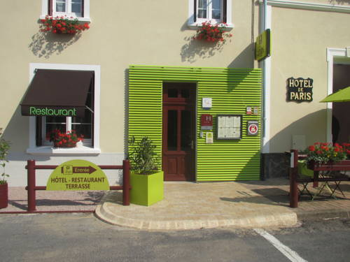 Logis Hotel De Paris : Hotel near Montcombroux-les-Mines