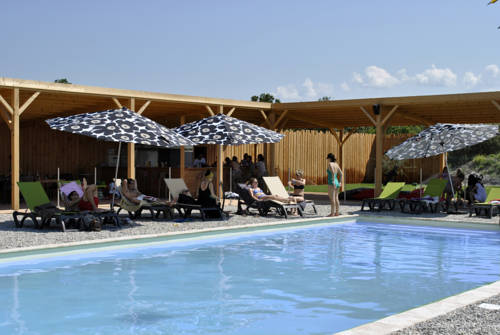 Lodges en Provence : Guest accommodation near Solérieux