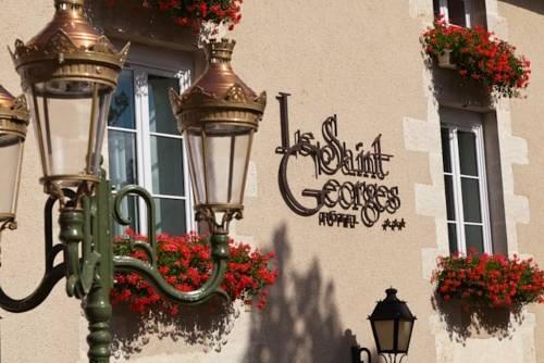 Hôtel Le Saint Georges : Hotel near Romagne