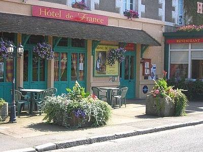 Logis Hôtel De France : Hotel near Domfront