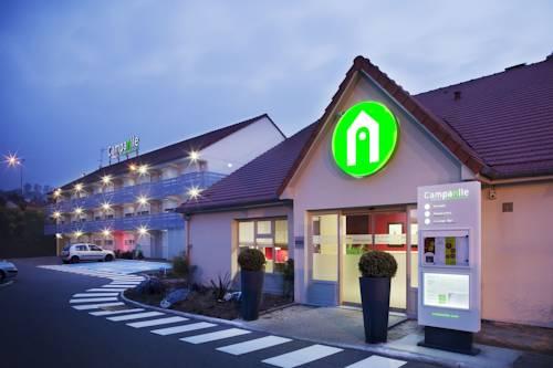 Campanile Epône : Hotel near Bazemont