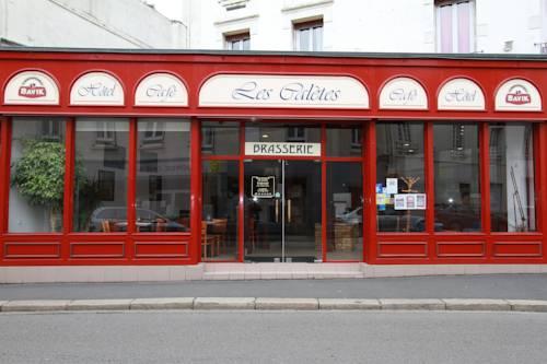 Hôtel Les Calètes : Hotel near Saint-Martin-du-Manoir
