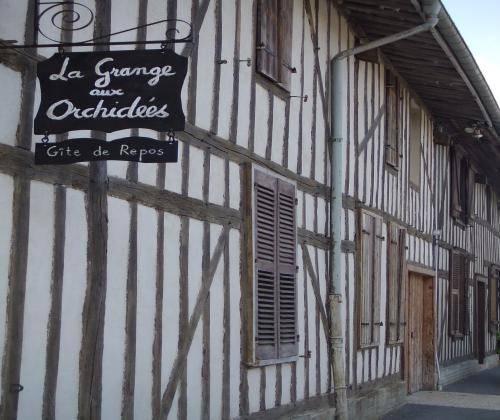 La Grange aux Orchidées : Guest accommodation near Dommartin-Dampierre