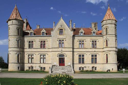 Chateau Moncassin : Guest accommodation near Anzex