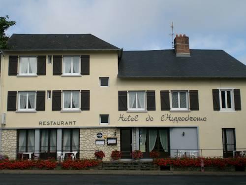 Hotel de L'Hippodrome : Hotel near Arnac-Pompadour