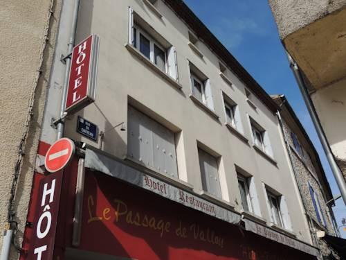 Hôtel Le Passage de Vallon : Hotel near Vallon-Pont-d'Arc