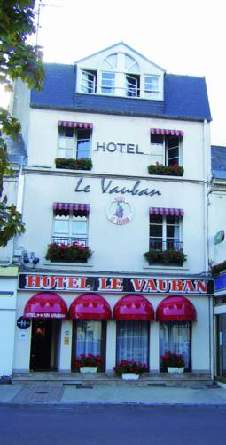 Hôtel Le Vauban : Hotel near Carentan