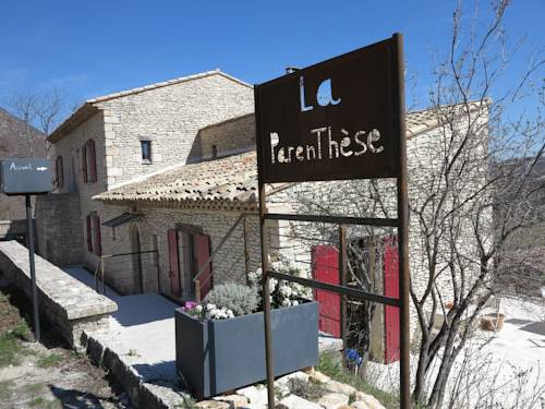 La Parenthèse Banon : Bed and Breakfast near Saumane