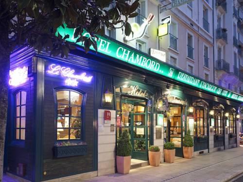 Hotel Chambord : Hotel near Saint-Étienne-de-Vicq