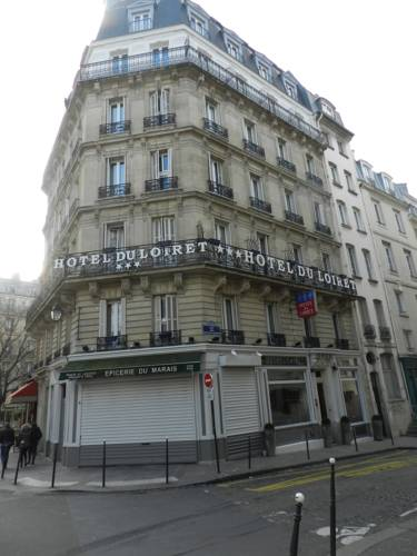 Grand Hotel du Loiret : Hotel near Paris 4e Arrondissement