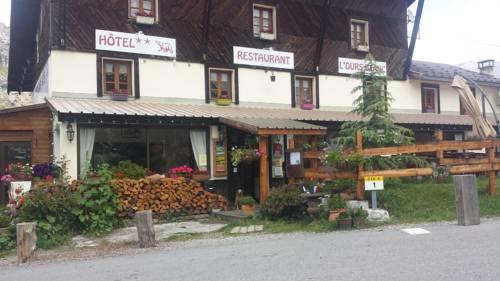 L'Ours Blanc : Hotel near Allos