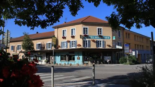 Hôtel Des Alliés : Hotel near Jujurieux