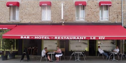 Hotel Le XIV : Hotel near Pontorson