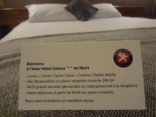 Inter-Hotel Le Solana : Hotel near Niort
