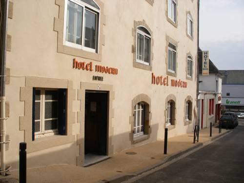 Hôtel Modern : Hotel near Concarneau