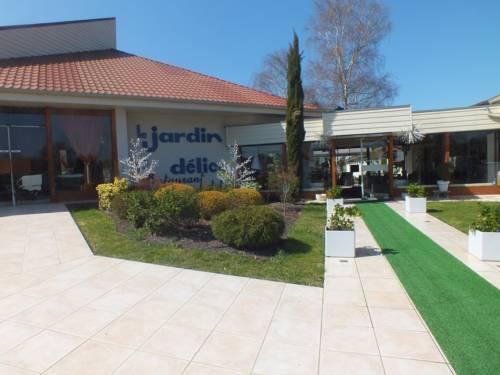 Hotel Restaurant Le Jardin Délice : Hotel near Louroux-Hodement