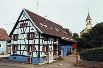 Le Rustic : Guest accommodation near Kœstlach