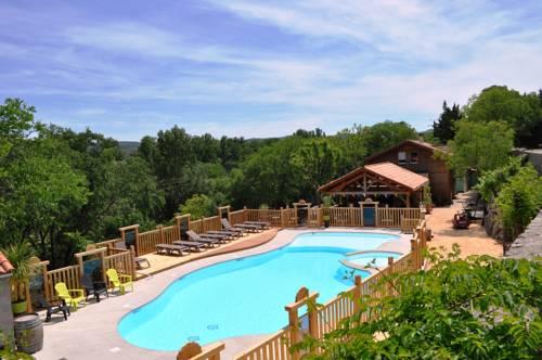 Camping de l'Arche : Guest accommodation near Balazuc