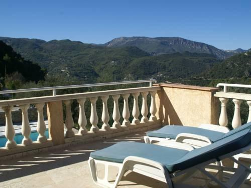 Villa - La Roquette-Sur-Var : Guest accommodation near Tourette-du-Château