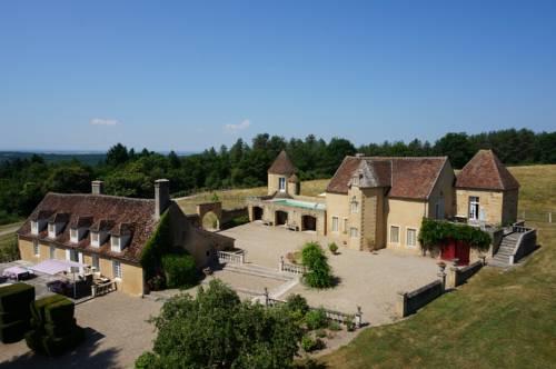 Manoir du mortier : Bed and Breakfast near Vallon-en-Sully