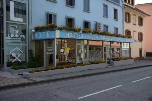 Hôtel de l'Europe : Hotel near Savoie